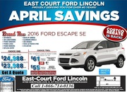 2016 Ford Escape Toronto