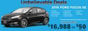 2016 Ford Focus SE Toronto